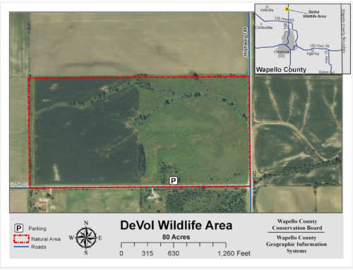 DeVol Wildlife Area Map