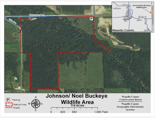 Johnson Noel Buckeye Wildlife Area Map