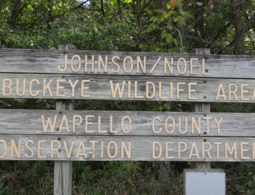 Johnson Noel Buckeye Wildlife Area Sign
