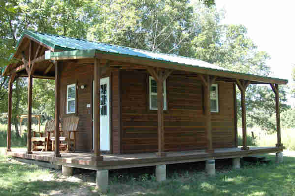 east camping cabin